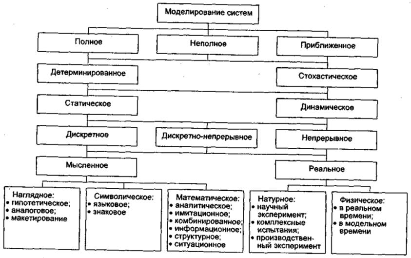 Пример классификации видов